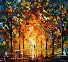 The Return Of The Sun- original oil painting on canvas by Leonid Afremov by Leonid  Afremov