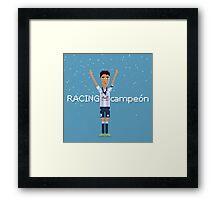 Racing campeón Framed Print