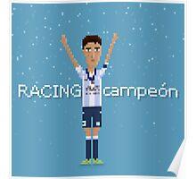 Racing campeón Poster
