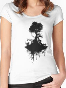 Last Tree Standing Women's Fitted Scoop T-Shirt
