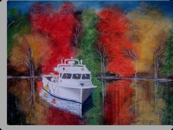 Spirit of New England by Hilary Robinson