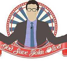 God save John Oliver by Titmoff