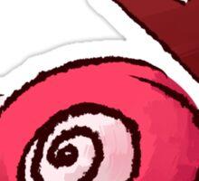 Peeky Bird looks on Sticker