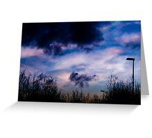 nacreous clouds 6jan 2011 #3 Greeting Card