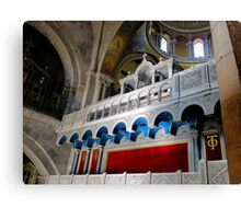 Church of the Holy Sepulchre Canvas Print