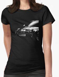 mini cooper, british car Womens Fitted T-Shirt
