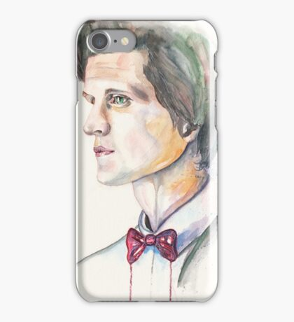 Eleventh Doctor. Matt Smith iPhone Case/Skin