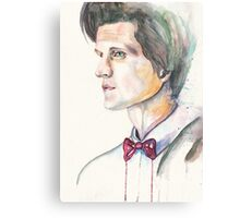 Eleventh Doctor. Matt Smith Canvas Print