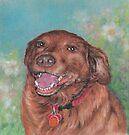 Happy Maddie by Pam Humbargar