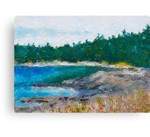The Beach at Drumbeg Canvas Print