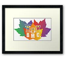 BMC Autumn Owls Framed Print