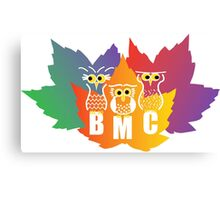 BMC Autumn Owls Canvas Print