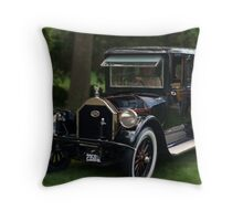 1919 Pierce Arrow Presidential Limousine Throw Pillow