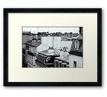 Paris hotel Framed Print