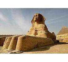 At the Paws of the Sphinx Fine Art Print Photographic Print