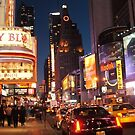 Time Square NYC  by dazaria