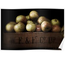Apple Crate Poster