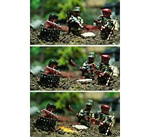 Lego Ethnic Cleansing Photographic Print