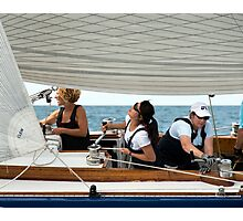 Three winches, Three Wenches Photographic Print