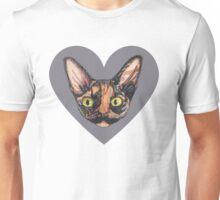 Miss Mustachio Unisex T-Shirt