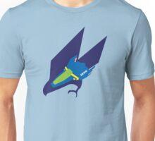 Blue Falcon Emblem Unisex T-Shirt