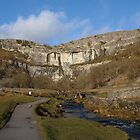 Malham Cove on a January Day by Kat Simmons