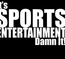 It's Sports Entertainment Damn It! - WWE by KayfabesDead