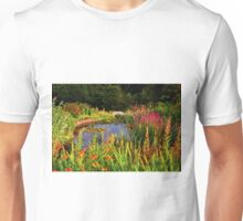 Delgatie Castle Pond (near Turriff, in Aberdeenshire, Scotland) Unisex T-Shirt