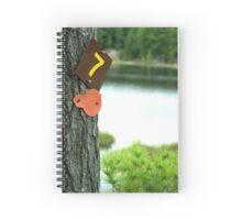 Canadian Bush Camping Spiral Notebook