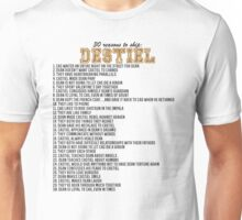 30 reasons to ship Destiel Unisex T-Shirt