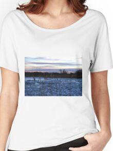 Buckhorn Pond Before Dawn Women's Relaxed Fit T-Shirt