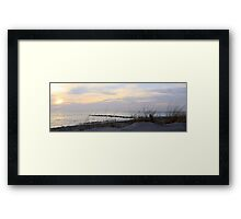 Cape May point 10x30 crop Framed Print