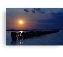 TCC Sunset Canvas Print