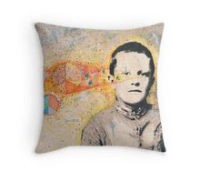 Denny In The Flow Throw Pillow