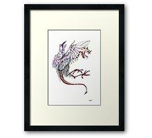 Dragon Flight Framed Print