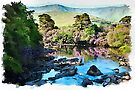 River Erriff #2 watercolour by PhotosByHealy