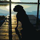Sunrise with Molly by Aaron Bottjen