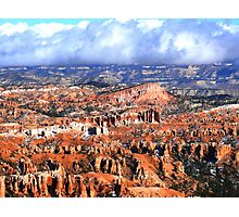 Bryce Canyon series 11 Photographic Print