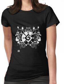 Hunab Ku Updated No Werdz 2011 Womens Fitted T-Shirt