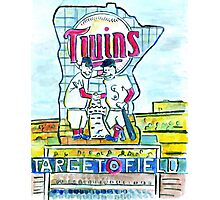 Target Field Photographic Print