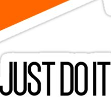 Just Do It Tomorrow Funny Meme Face Parody Sticker