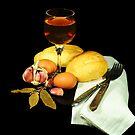Bread and Wine by carlosporto