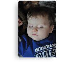 sleeping baby Canvas Print