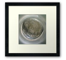 Shattered - The bottom of the bottle Framed Print