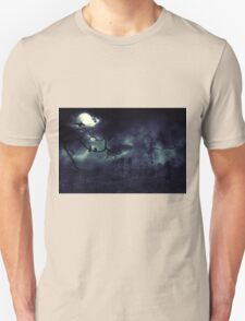 Moon over Field 2 Unisex T-Shirt
