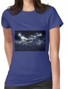 Storm over Field Womens Fitted T-Shirt