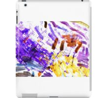 Color painting iPad Case/Skin
