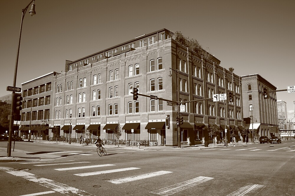 Denver - LoDo District by Frank Romeo