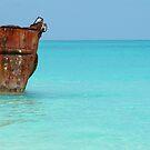 Bahamas seascape by Jennifer Eurell
