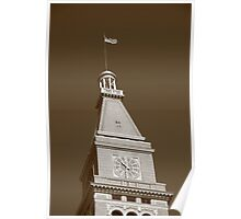 Historic D & F Clocktower - Denver Poster